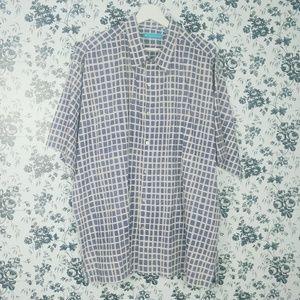 Tori Richard cotton men's  button down shirt
